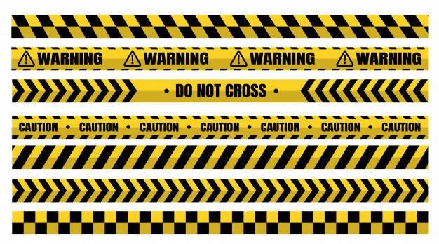 تولیدکننده نوار خطر